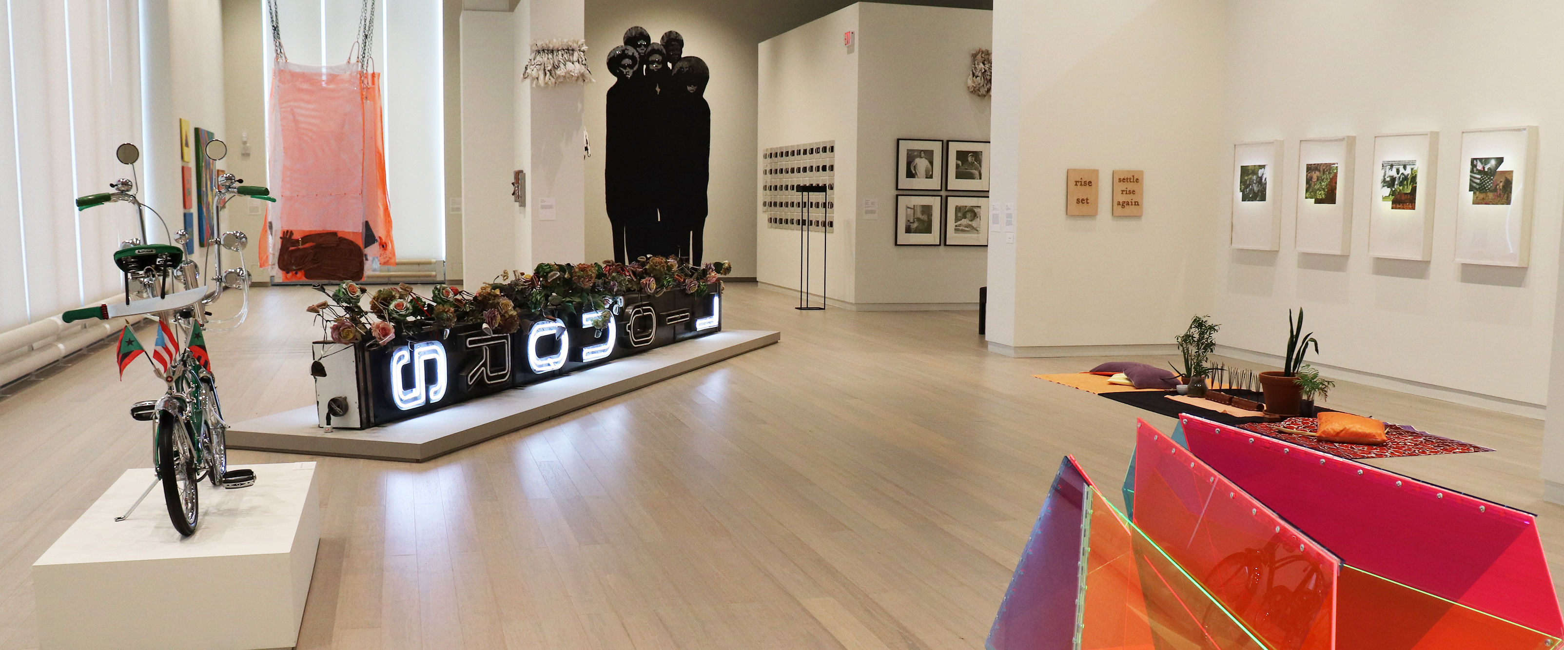Uptown (Installation View). On view at the Wallach Art Gallery June 2 - August 20, 2017. Photograph by Eddie Bartolomei.